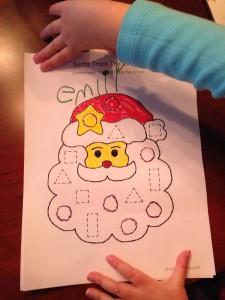 Santa for Emily