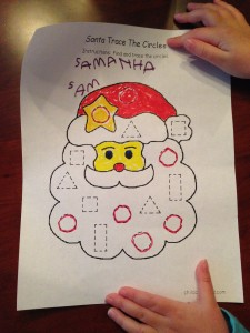 Santa for Samantha
