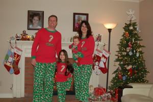 Watts Family Christmas Photo