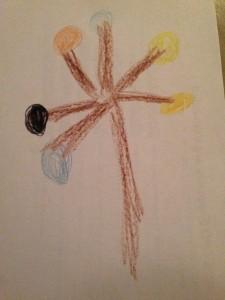A tree or fancy lollipop.
