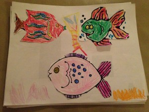 Very colorful fish.